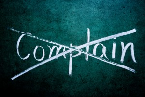 get rid of complaining at work