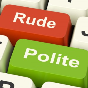 be polite in the workplace