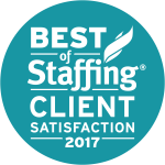 best of staffing client