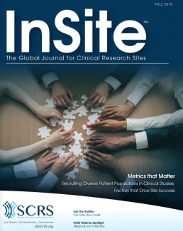 insite clinical research fall 2018