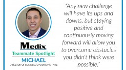michael teammate spotlight medix new york city
