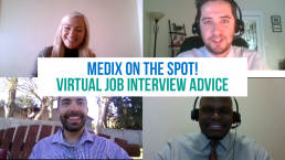virtual job interview advice medix on the spot