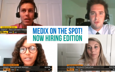 Video: Now Hiring – Medix on the Spot!