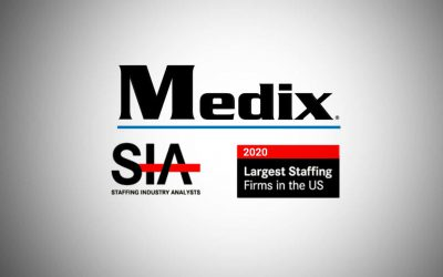 Medix Ranked Among Largest Staffing Firms in the U.S. by Staffing Industry Analysts for Sixth Consecutive Year