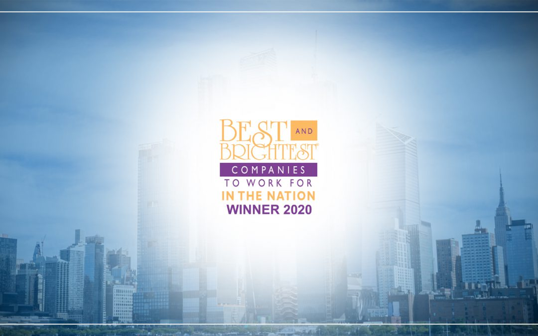 Medix Named Among the 2020 Best and Brightest Companies To Work For in the Nation®