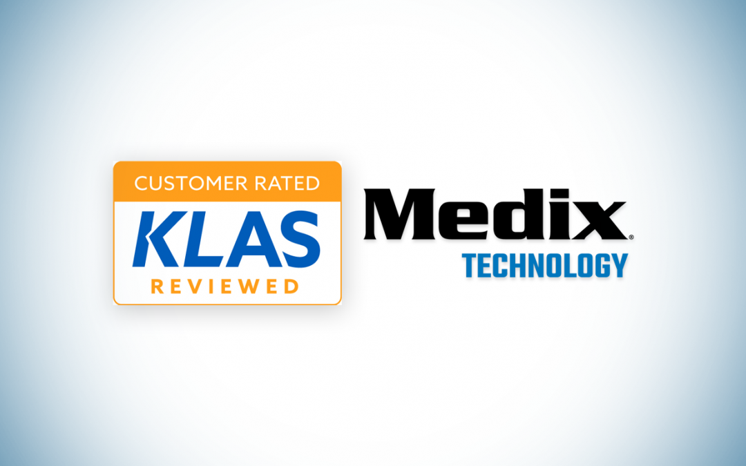 Medix Technology Ranked Among Top Vendors in 2021 Best in KLAS Report