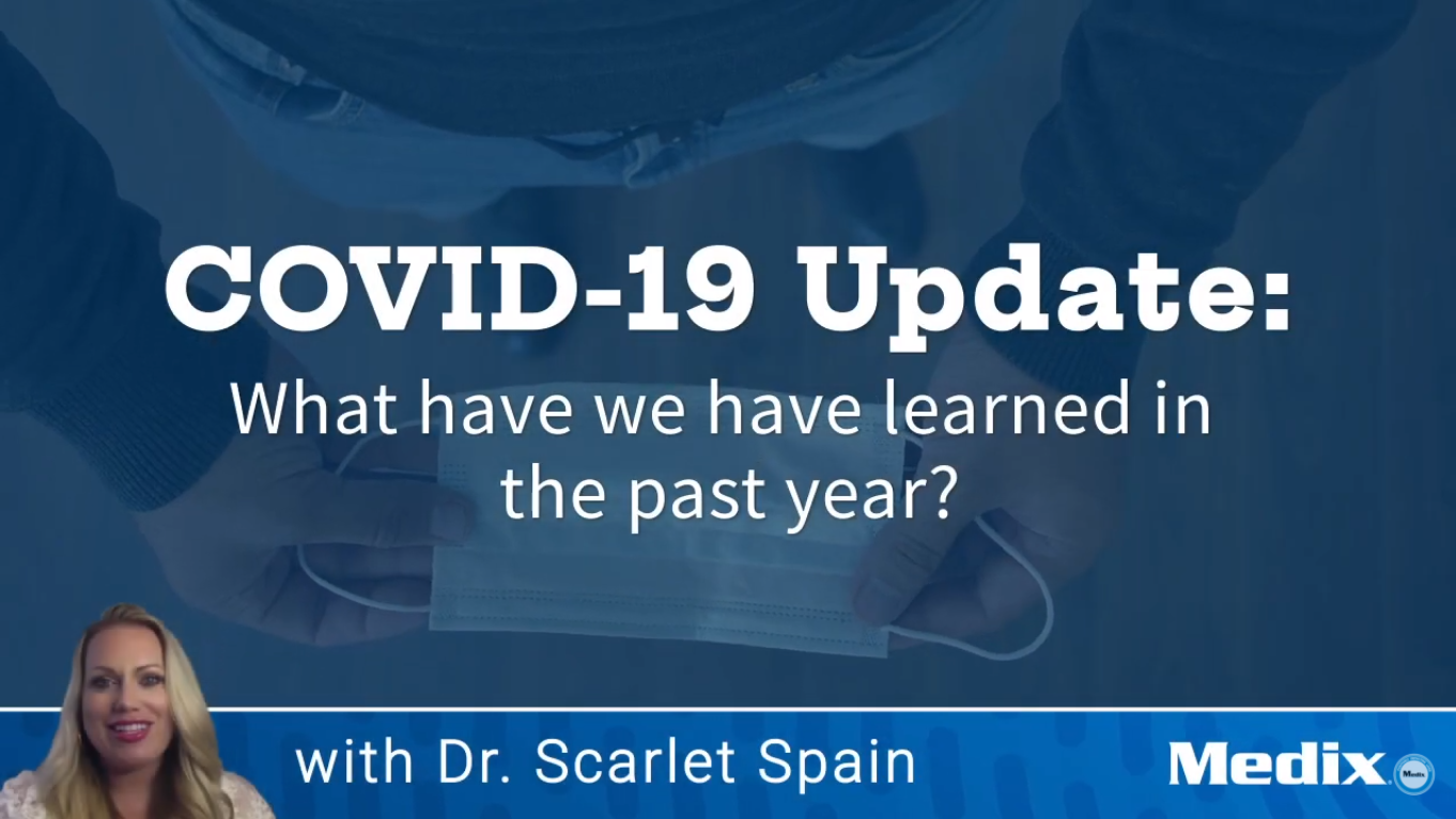 COVID-19 What Have We Learned in the Past Year Medix Scarlet Spain