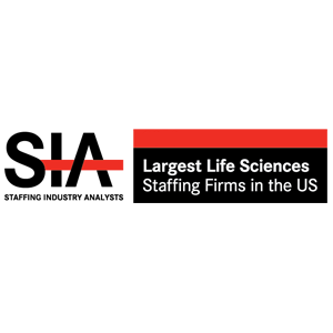 SIA - largest Life Sciences Staffing firm in US