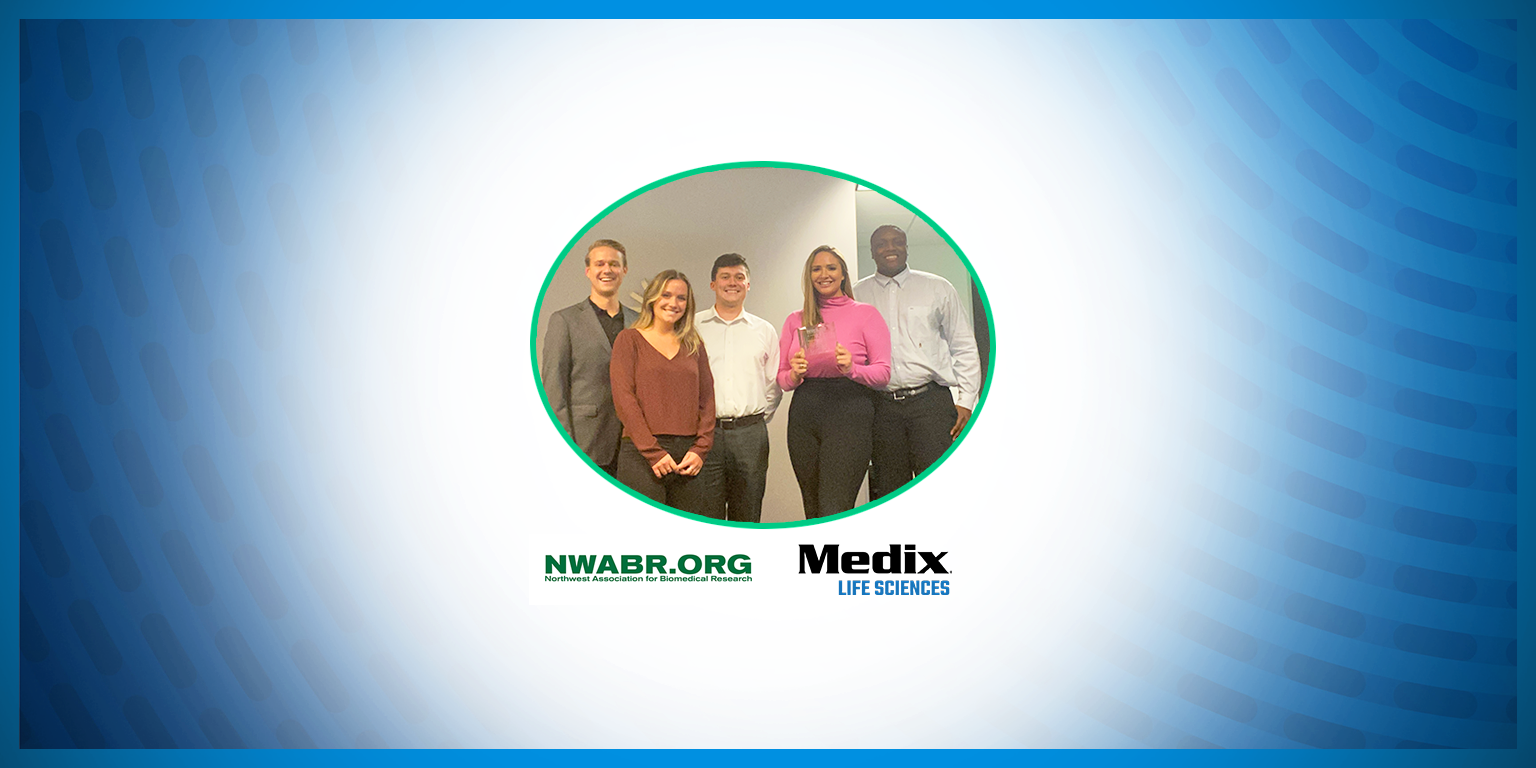 Medix Receives the 2021 Northwest Association for Biomedical Research's Alvin J. Thompson Award